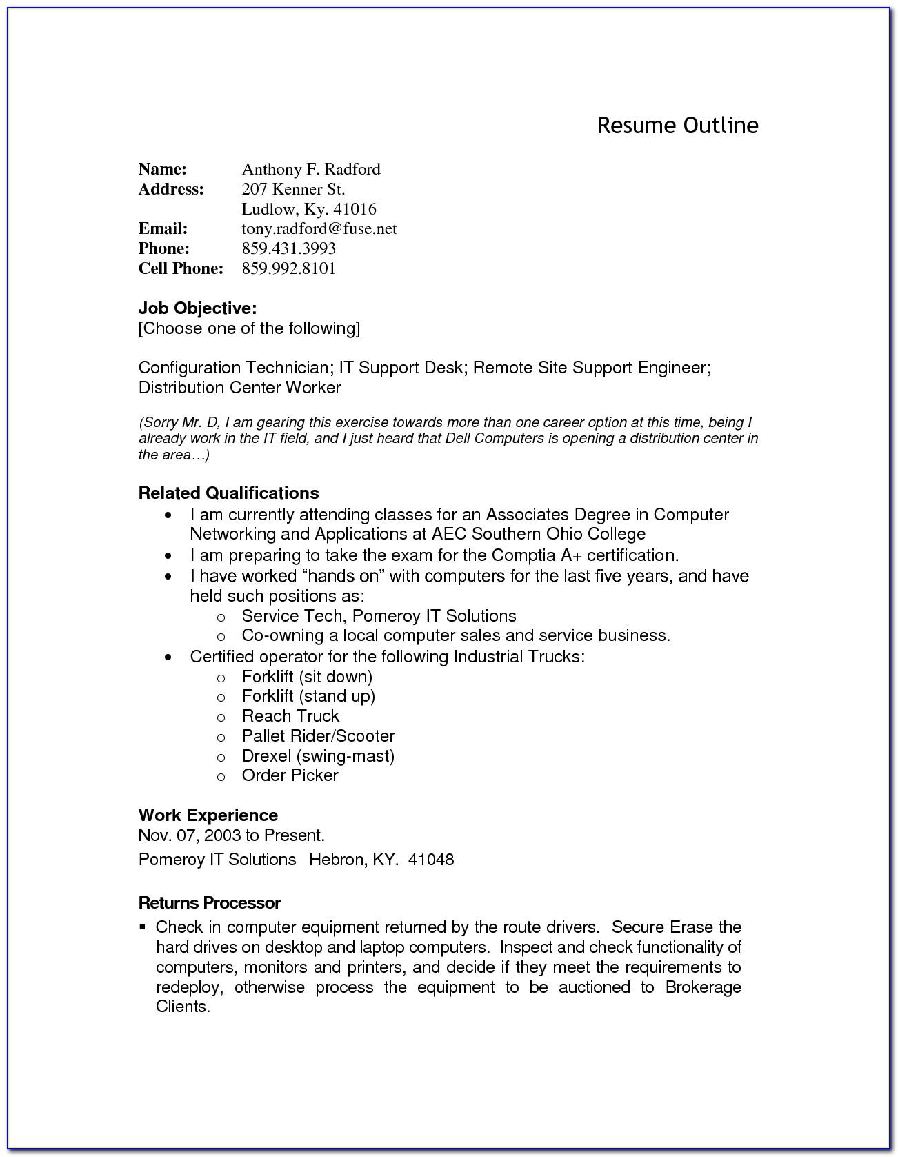 Resume Example Resume Outline Template Resume Builder Template In Free Resume Builder And Download