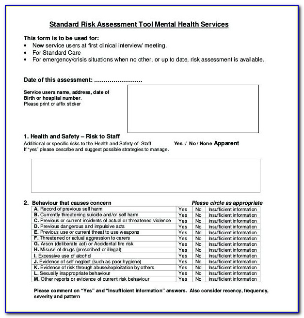 Workplace Health And Safety Forms Incident