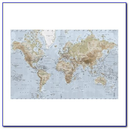 World Map Canvas Ikea