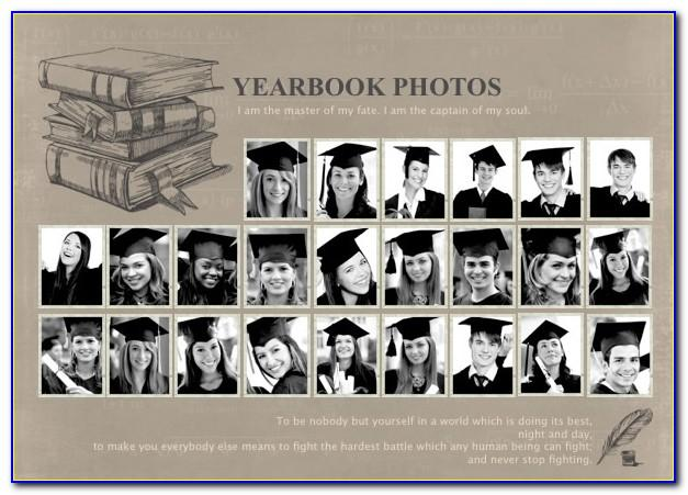 Yearbook Collage Template Free