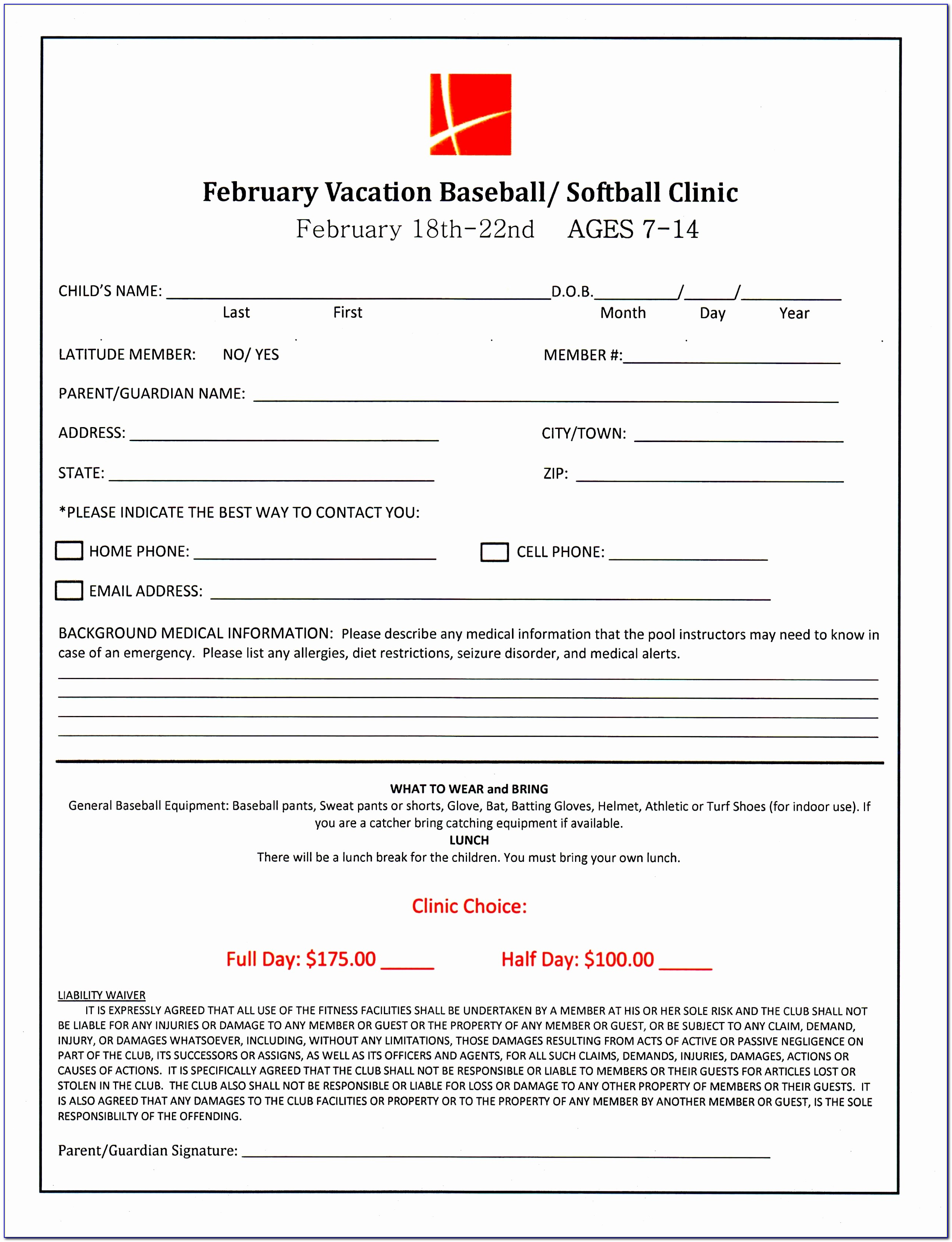 Team Sign Up Sheet Template Free Loan Agreement Example Baseball Registration Form Template Fresh Doc Xls Letter Download Templates Pwoco