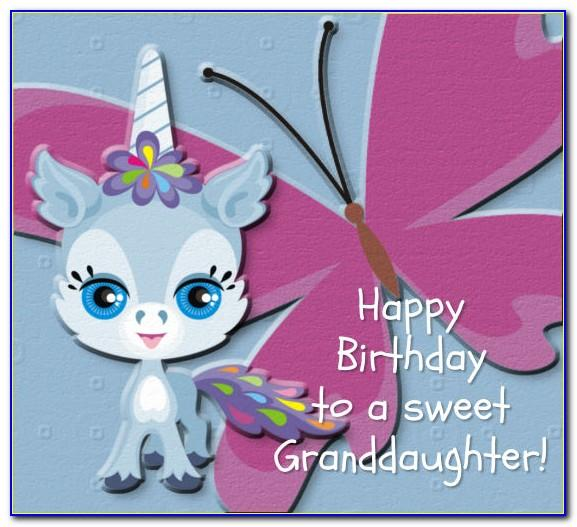 123 Birthday Cards For Granddaughter