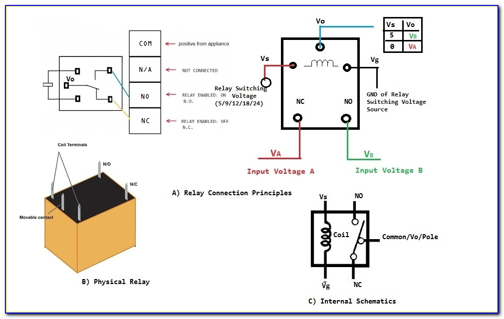 12v Dc Relay Diagram