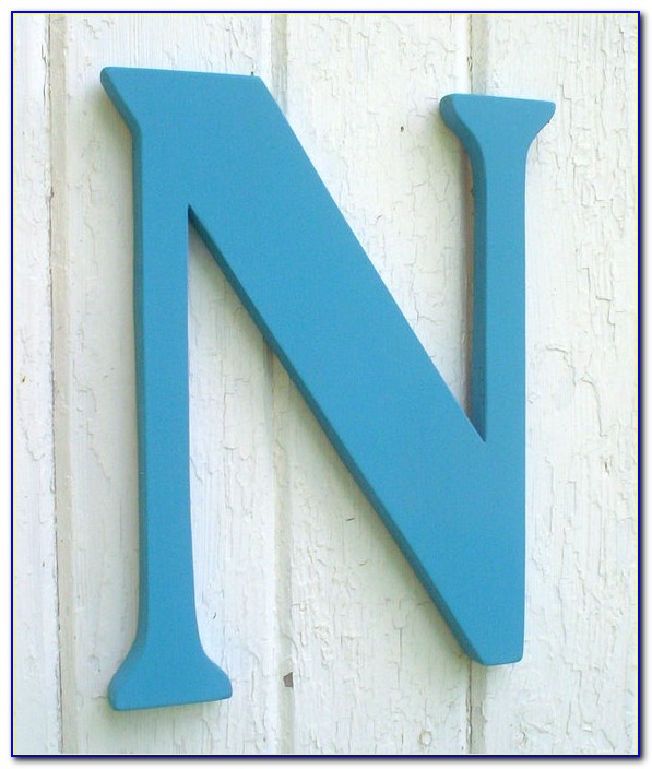 18 Inch Wooden Letters Hobby Lobby