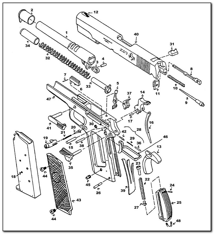 1911 Exploded View Pdf