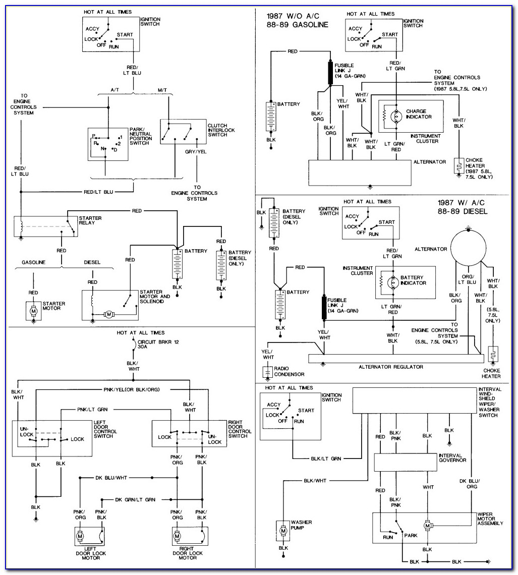1977 Ford F150 Starter Solenoid Wiring Diagram