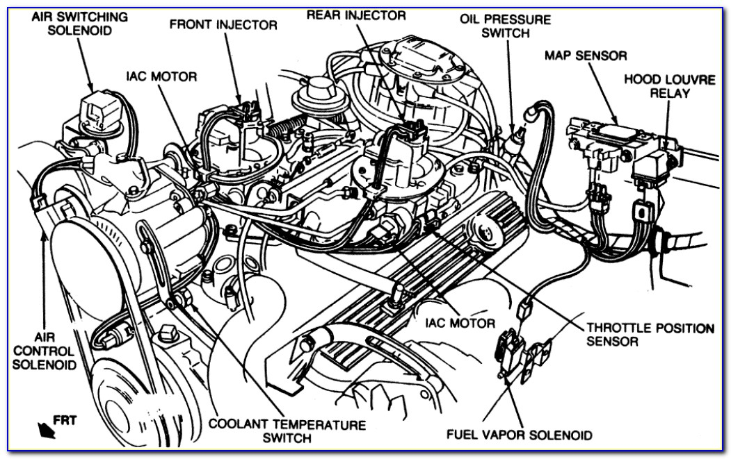 1982 Corvette Vacuum Hose Diagram