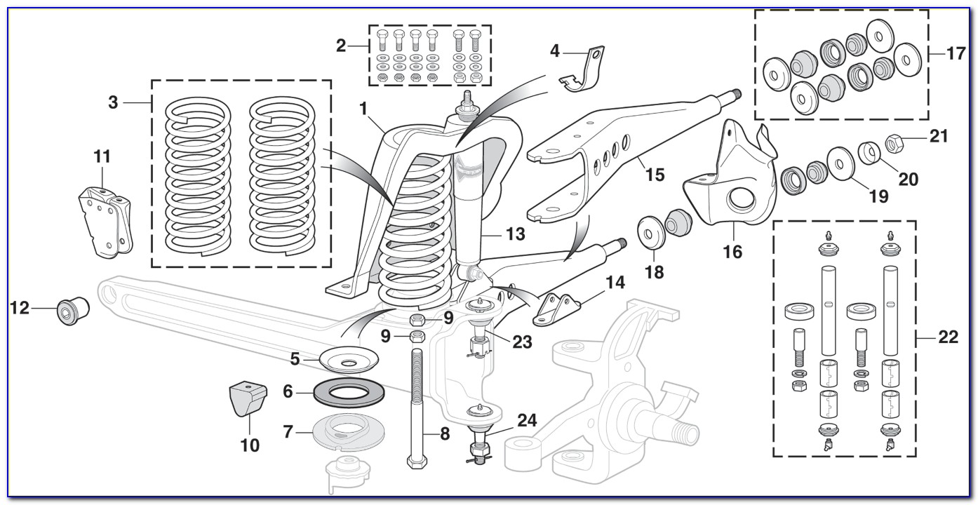 1993 Ford F150 Front Suspension Diagram