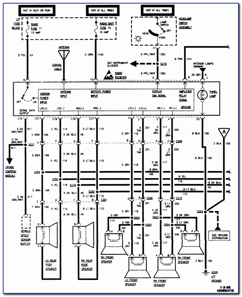 1994 Chevy S10 Ignition Wiring Diagram