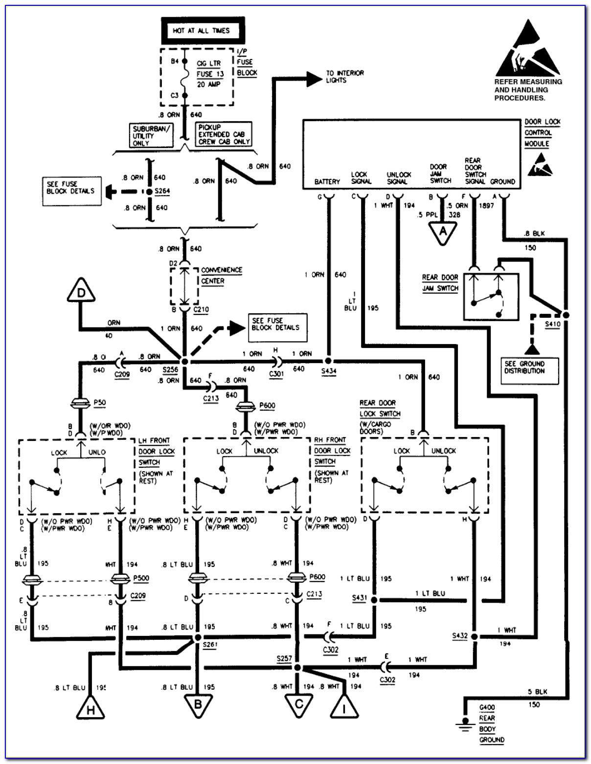 1995 Chevy Blazer Ignition Wiring Diagram