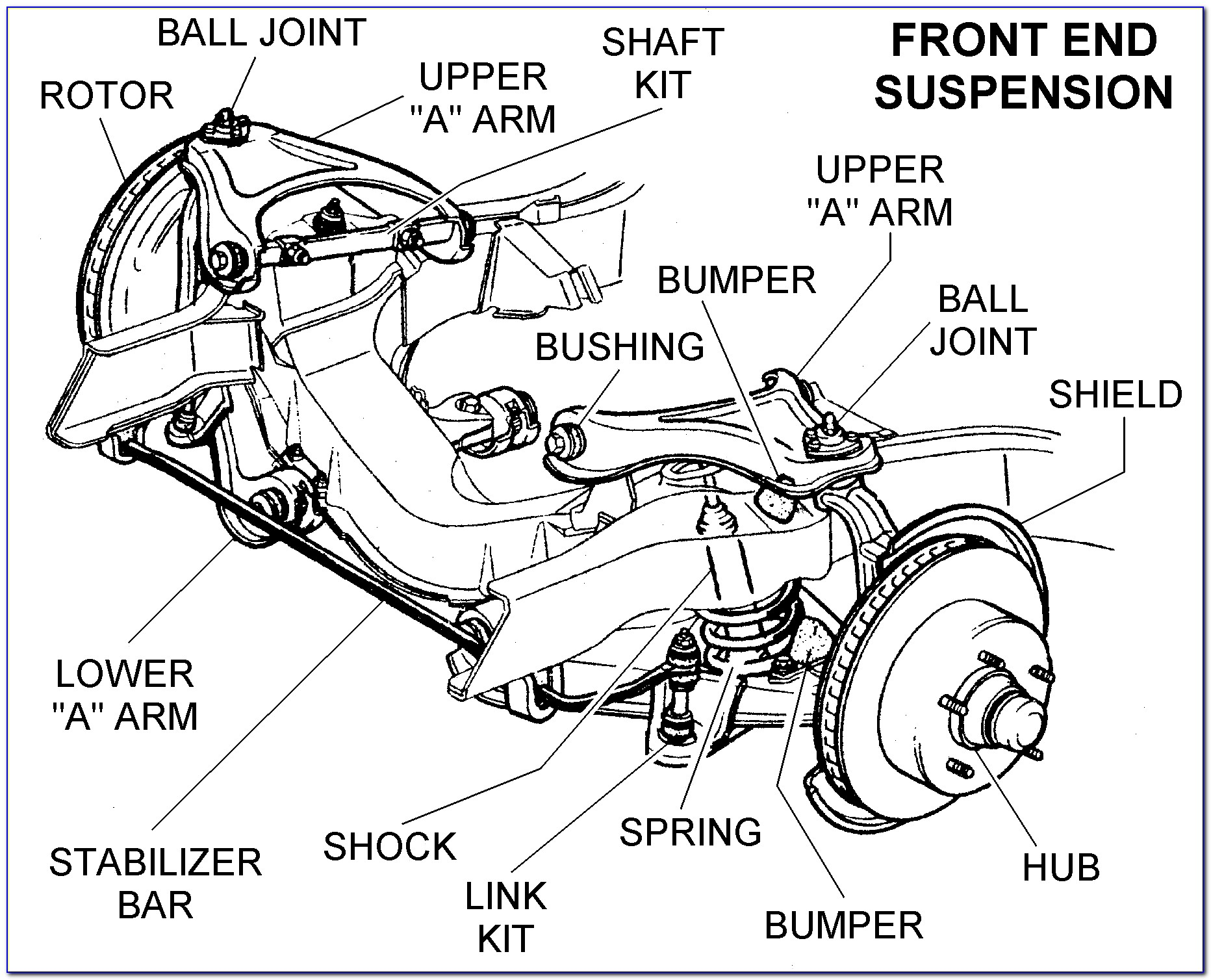 1996 F150 Front Suspension Diagram