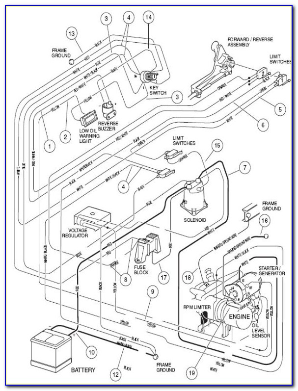 1996 Toyota Corolla Belt Diagram