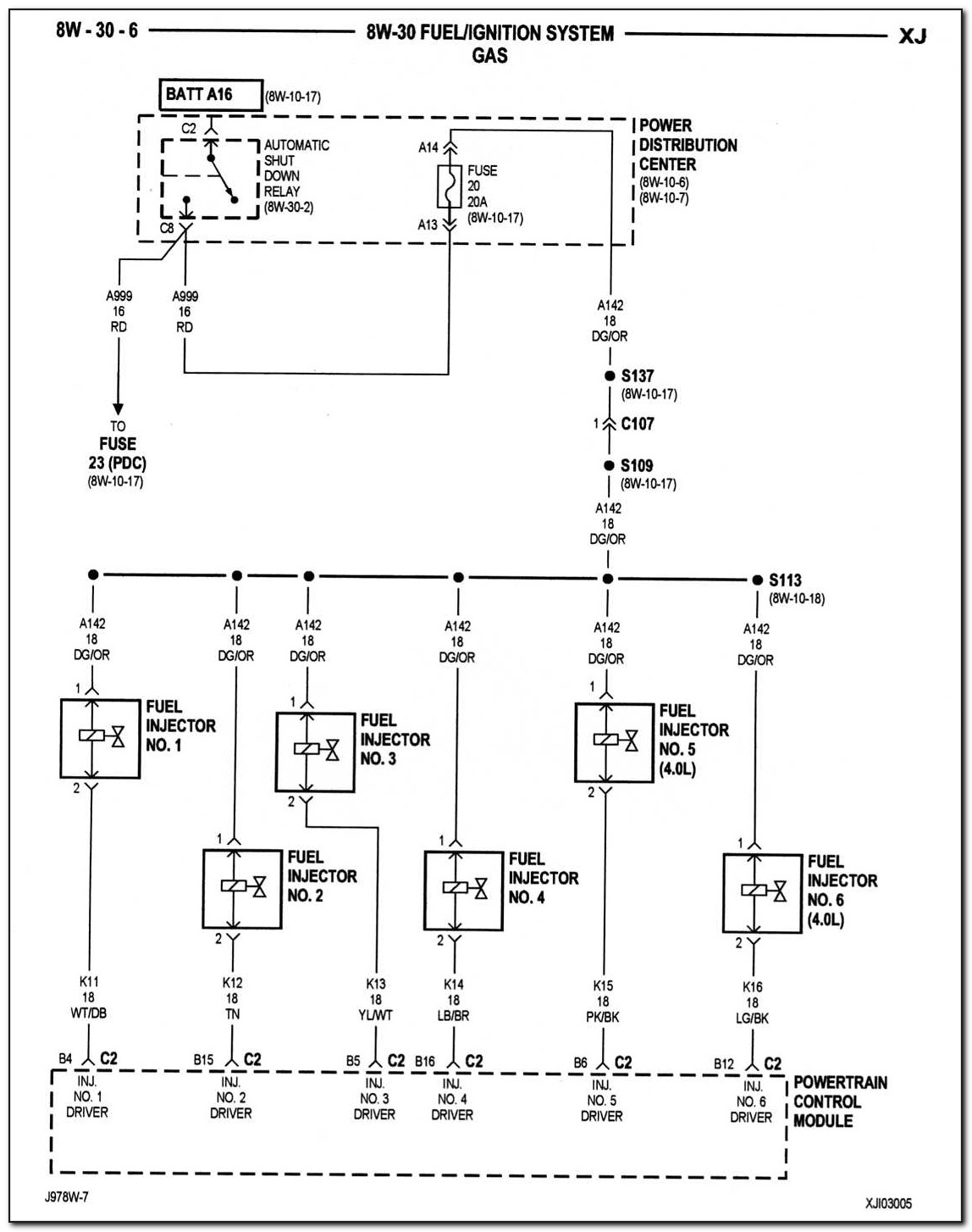 1998 Jeep Grand Cherokee Pcm Wiring Diagram