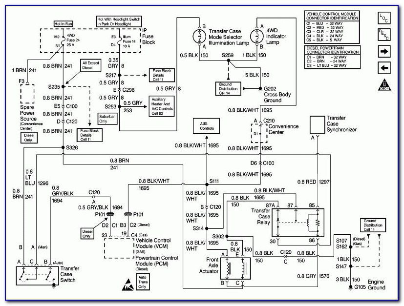 2000 Chevy Silverado 1500 Ac Wiring Diagram