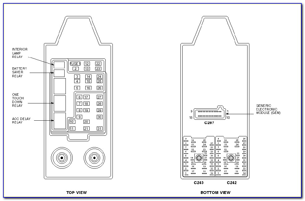 2000 Ford F150 Wiring Harness Diagram
