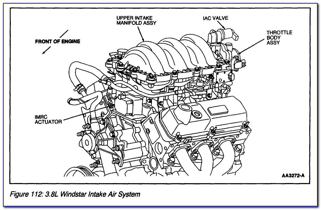 2000 Ford Windstar Heater Hose Diagram