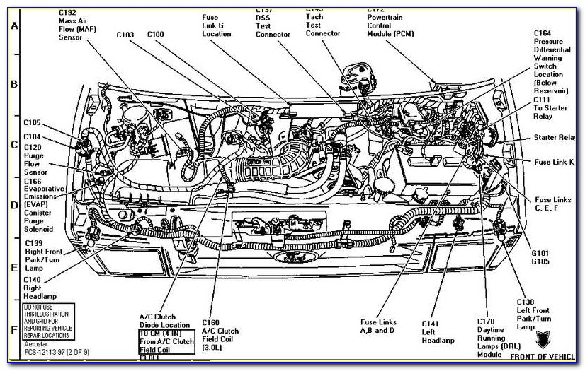 2002 Ford Ranger 3.0 Engine Diagram