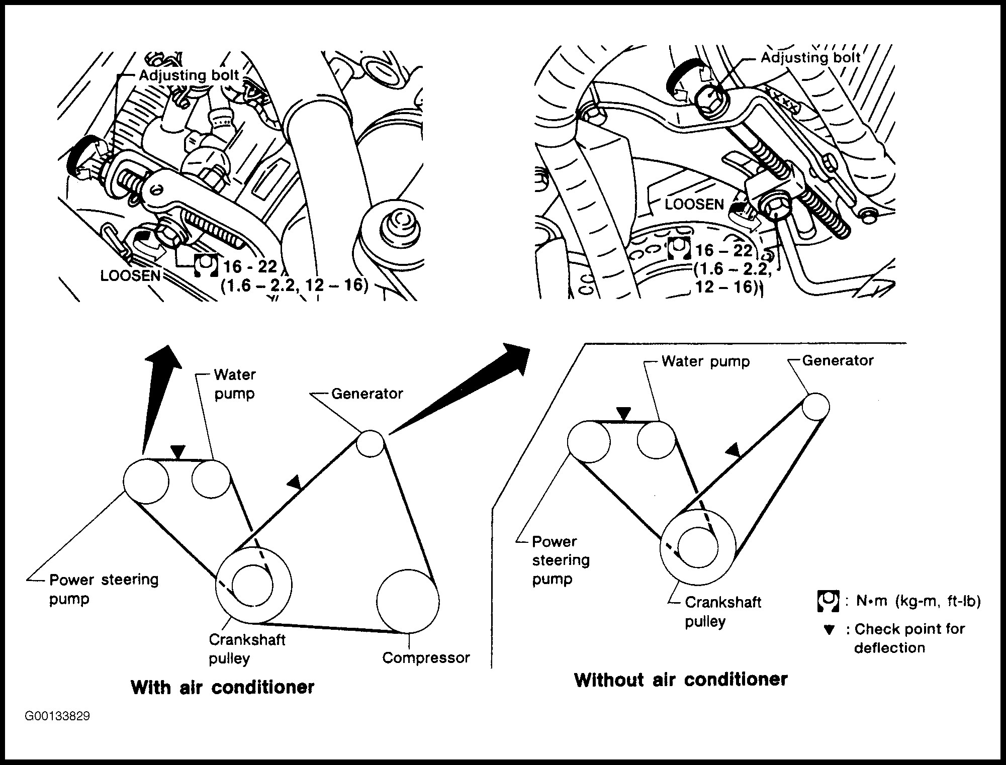 2002 Nissan Altima 2.5 Belt Diagram