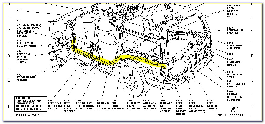 2003 Ford Expedition Brake Line Diagram