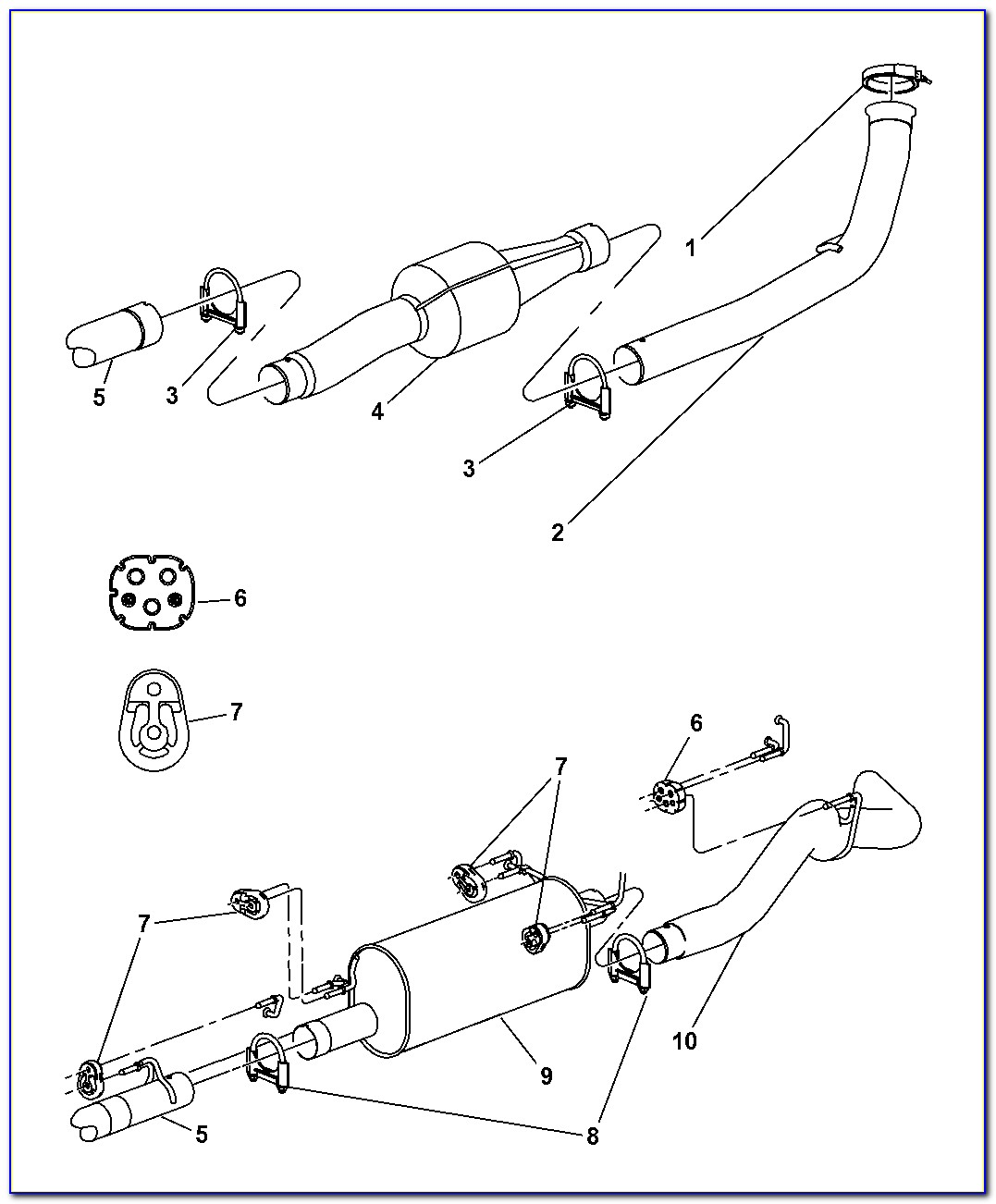 2004 Dodge Ram 1500 Hemi Exhaust System Diagram