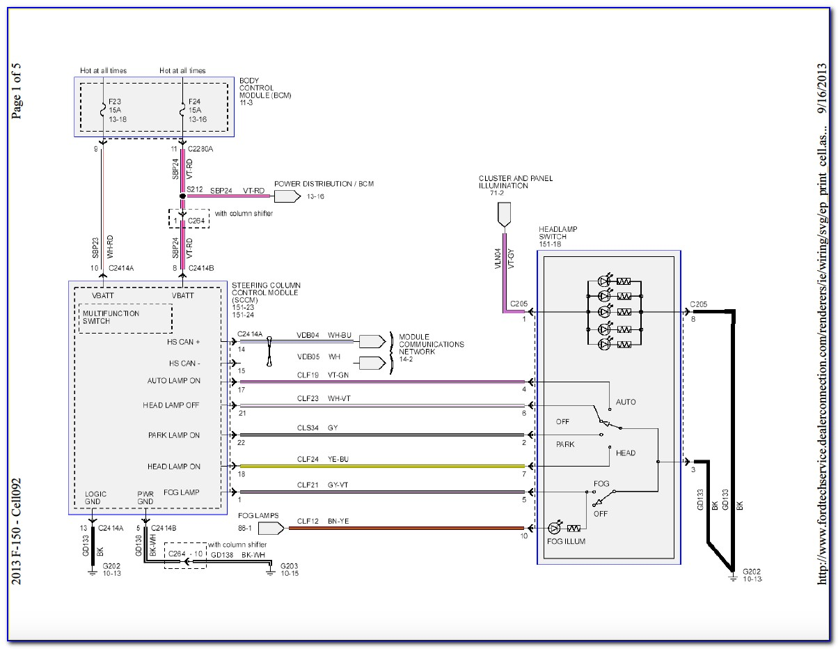 2004 Ford F150 Wiring Diagrams