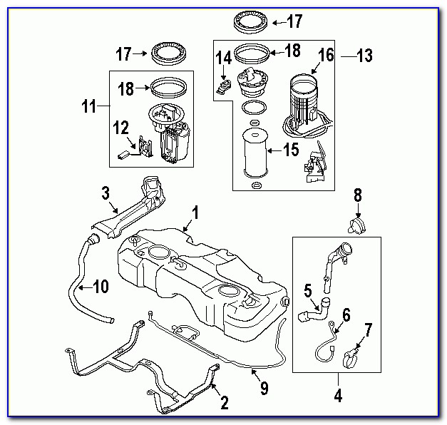 2004 Nissan Xterra Catalytic Converter Diagram