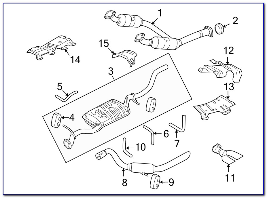2005 Ford Explorer 40 Engine Diagram