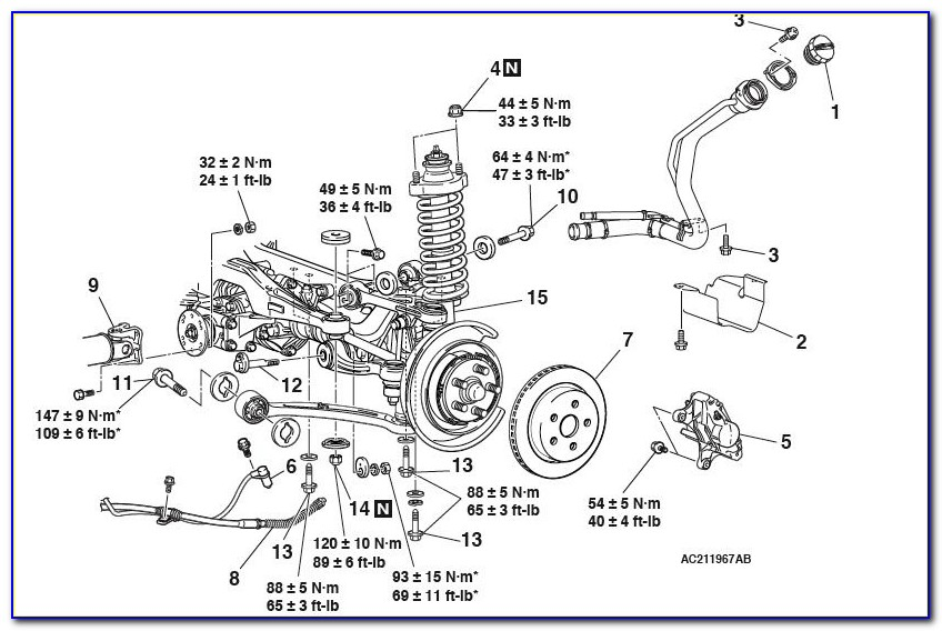 2007 Dodge Ram 2500 Front Suspension Diagram