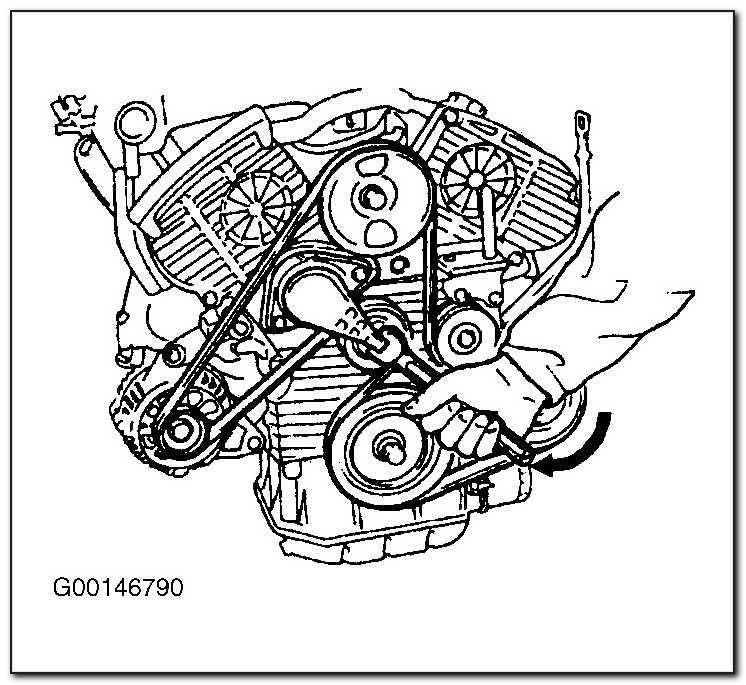2007 Hyundai Sonata Serpentine Belt Diagram