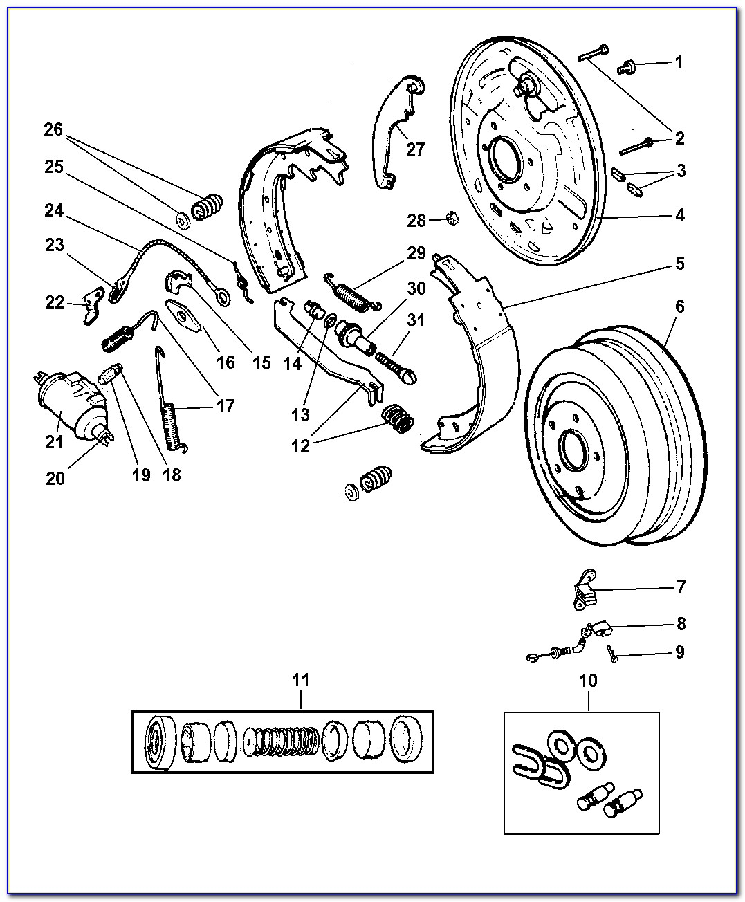 2007 Jeep Wrangler Emergency Brake Diagram