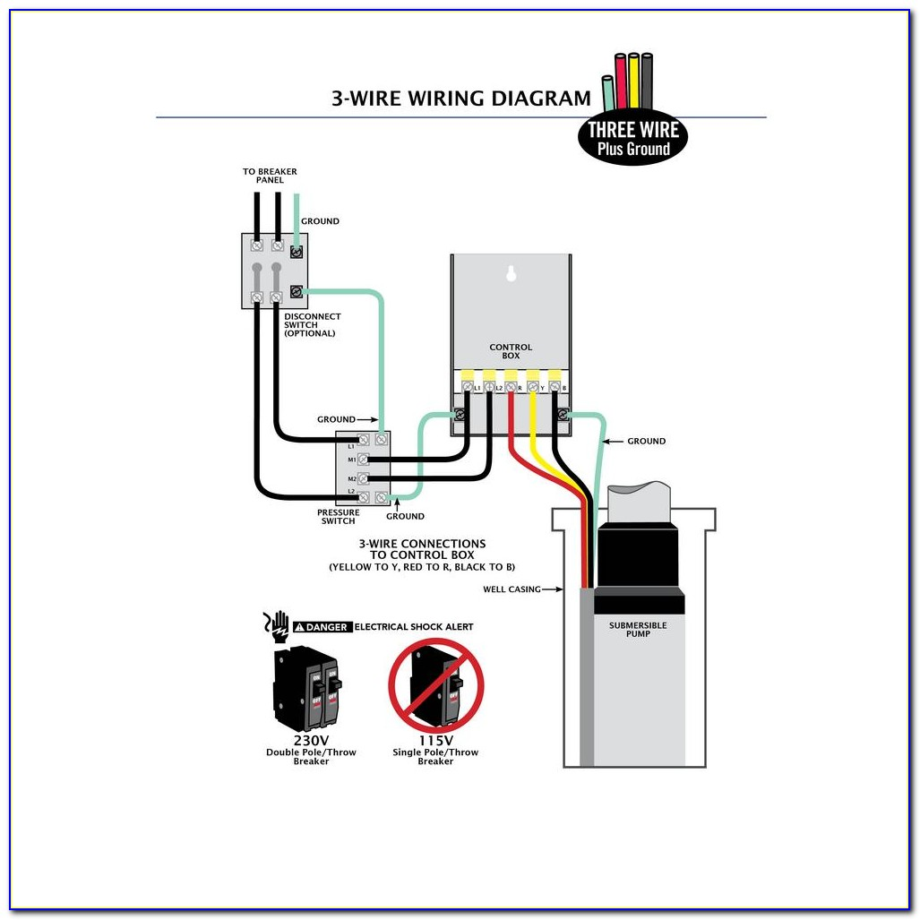 220 Volt Well Pump Pressure Switch Wiring Diagram