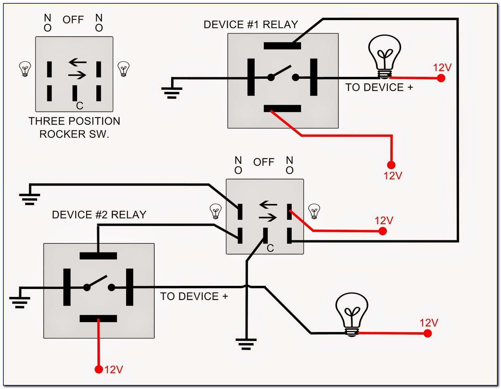 240v Relay Wiring Diagram