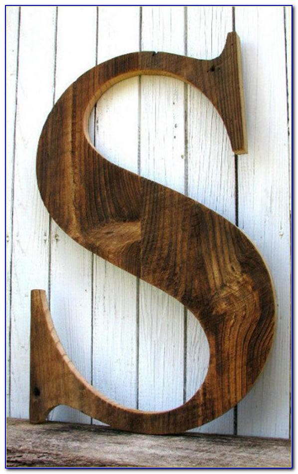 3 Inch Wooden Craft Letters