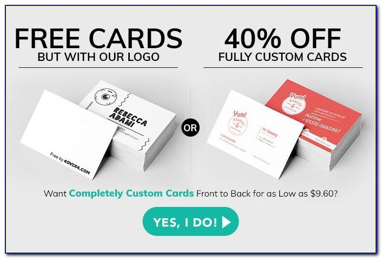 4over4 Business Cards Review