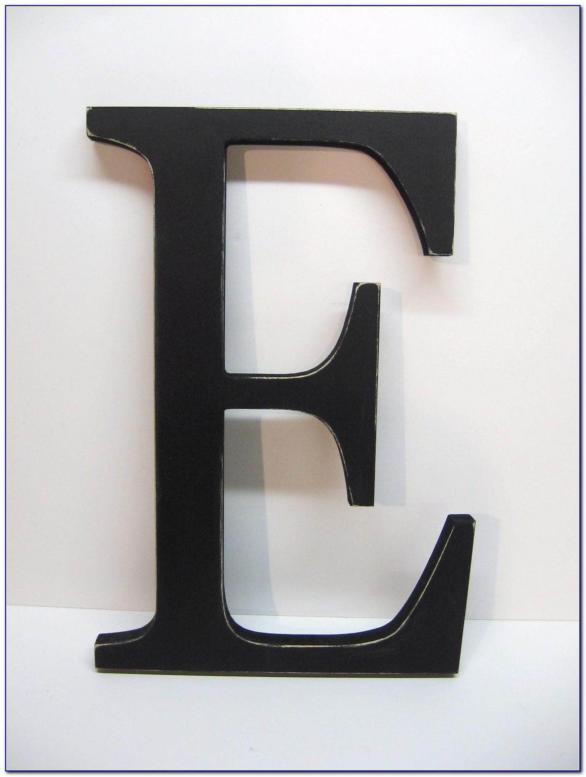 5 Inch Tall Wooden Letters