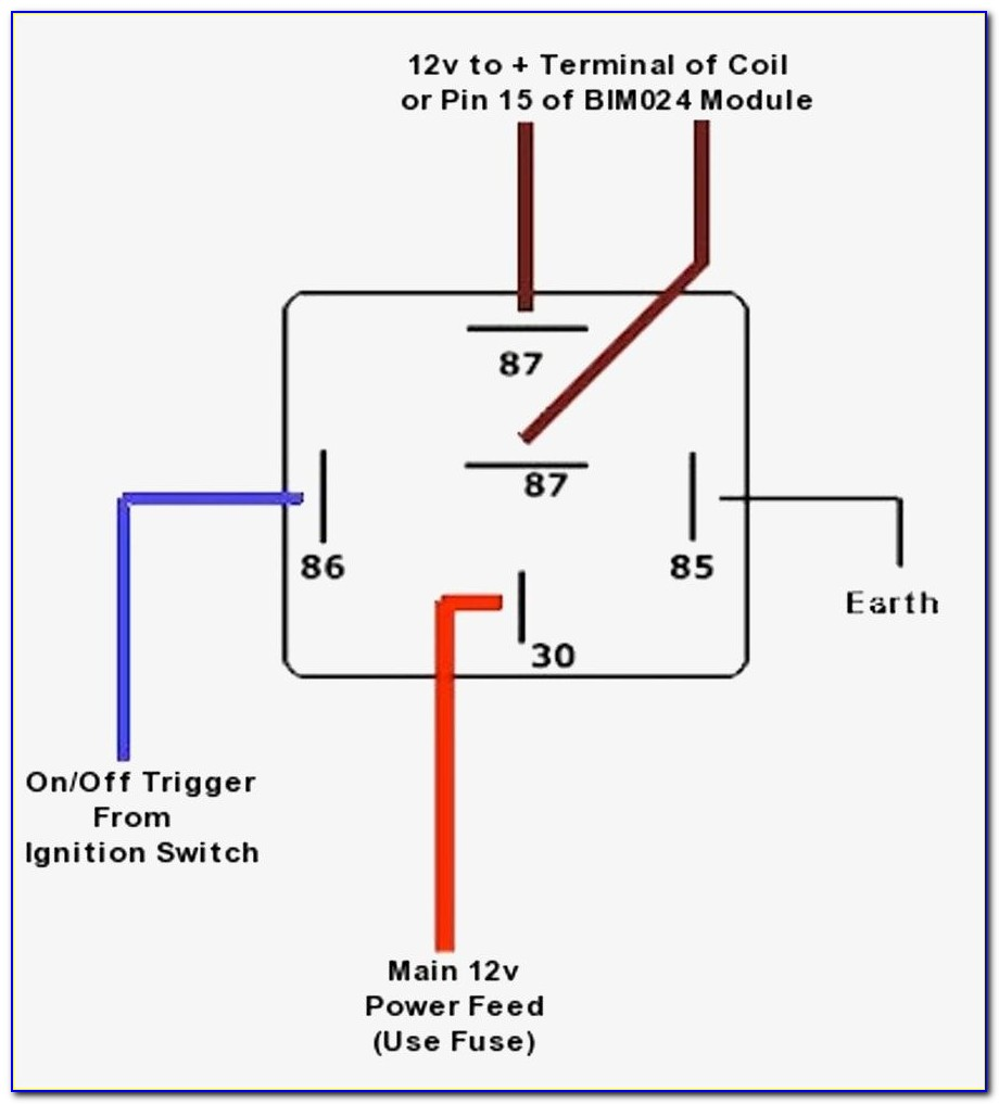 5 Pin Relay Wiring Diagram Spotlights