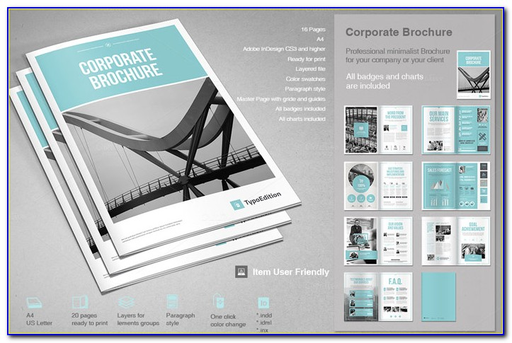 8.5 X 11 Booklet Template Word