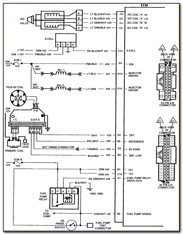 87 Chevy Truck Ignition Wiring Diagram