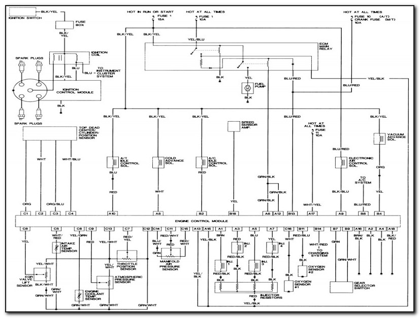 94 Chevy S10 Wiring Diagram
