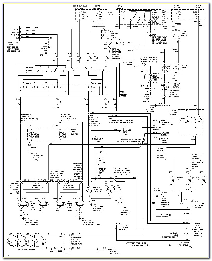 98 Dodge Ram 1500 Radio Wiring Diagram
