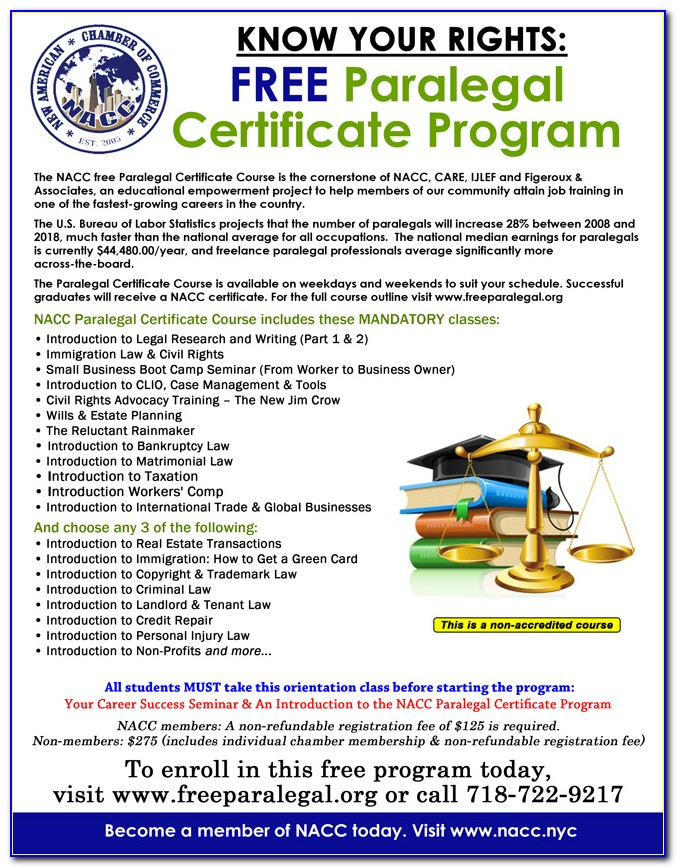 Aba Approved Paralegal Programs In California
