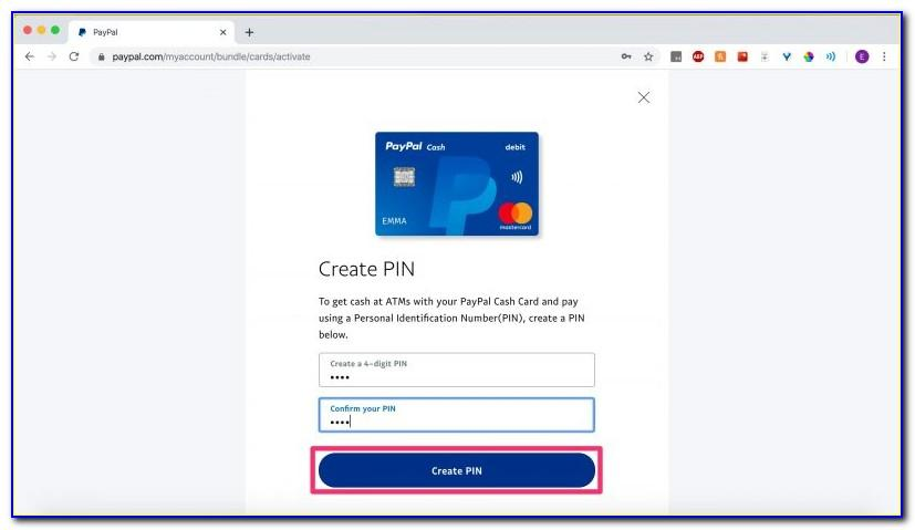 Activate Your Paypal Business Debit Card