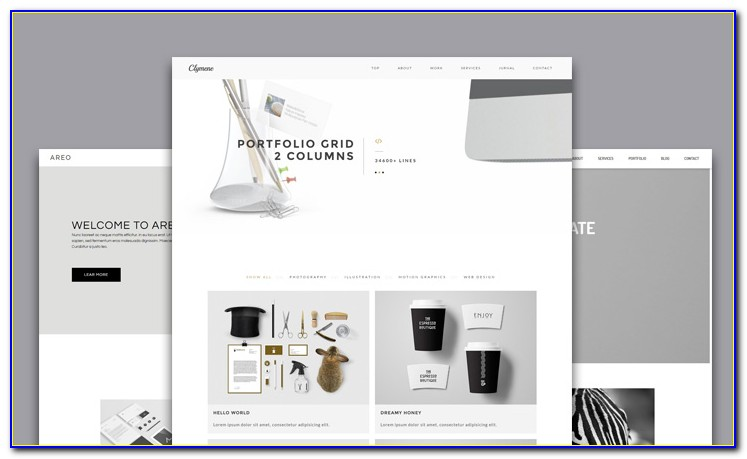 Adobe Muse Templates For Photographers 4