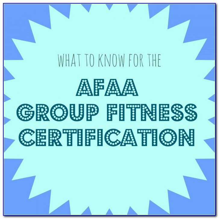 Afaa Or Ace Certification