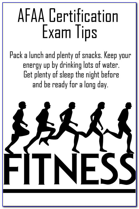 Afpa Personal Trainer Certification Exam Answers