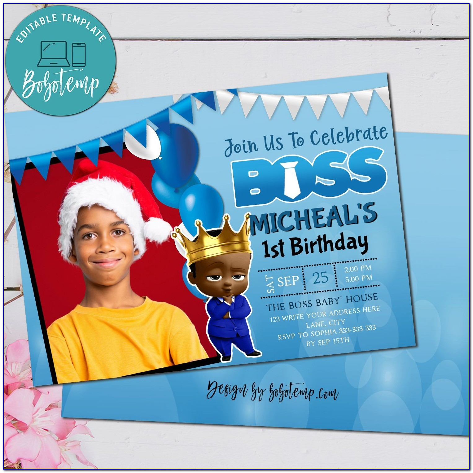 African American Rugrats Baby Shower Invitations