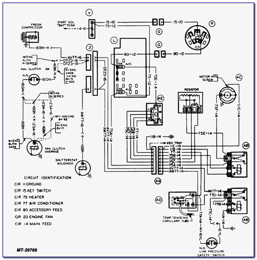 Air Compressor Motor Capacitor Wiring Diagram
