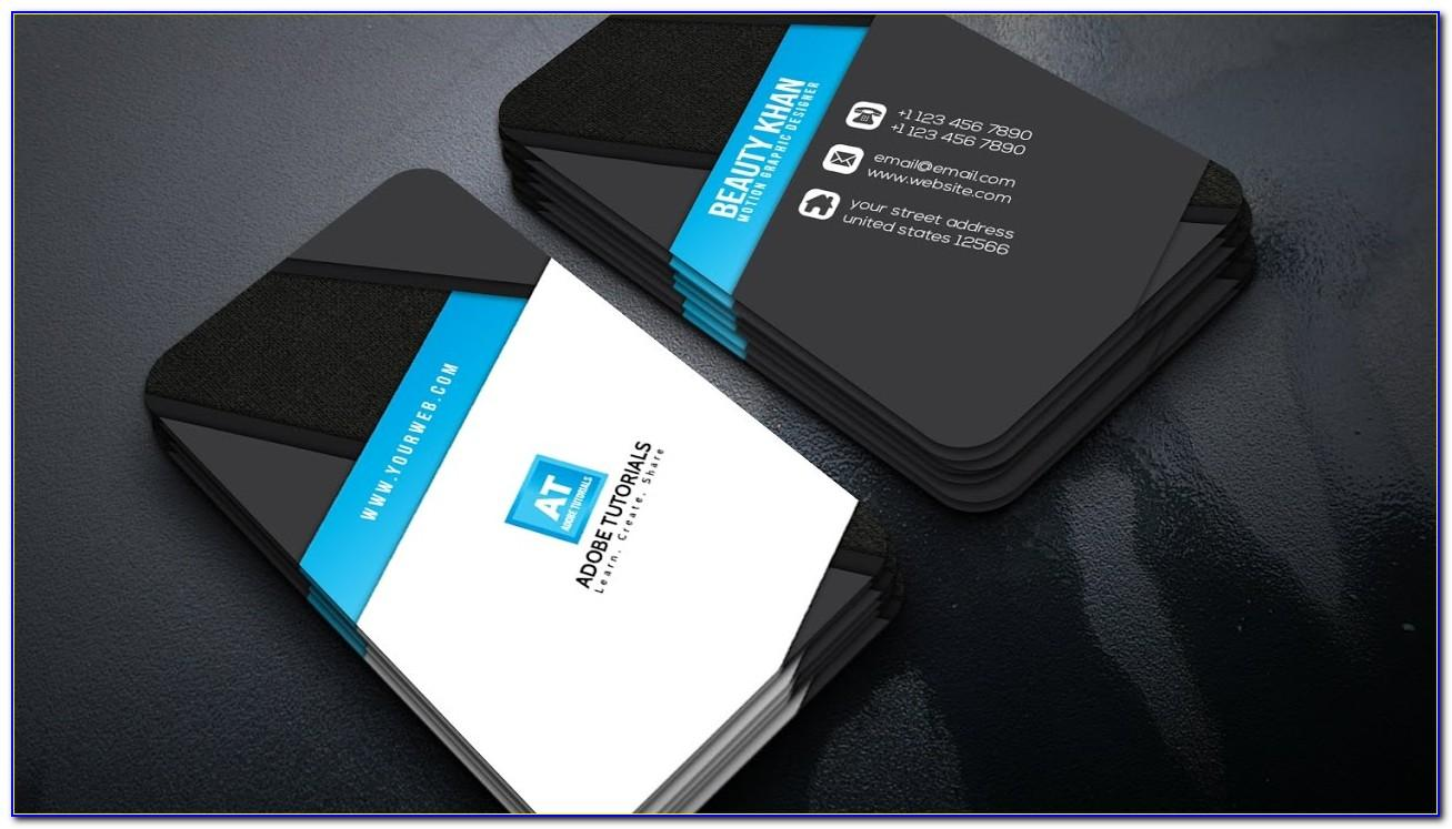 Airline Business Card Vector