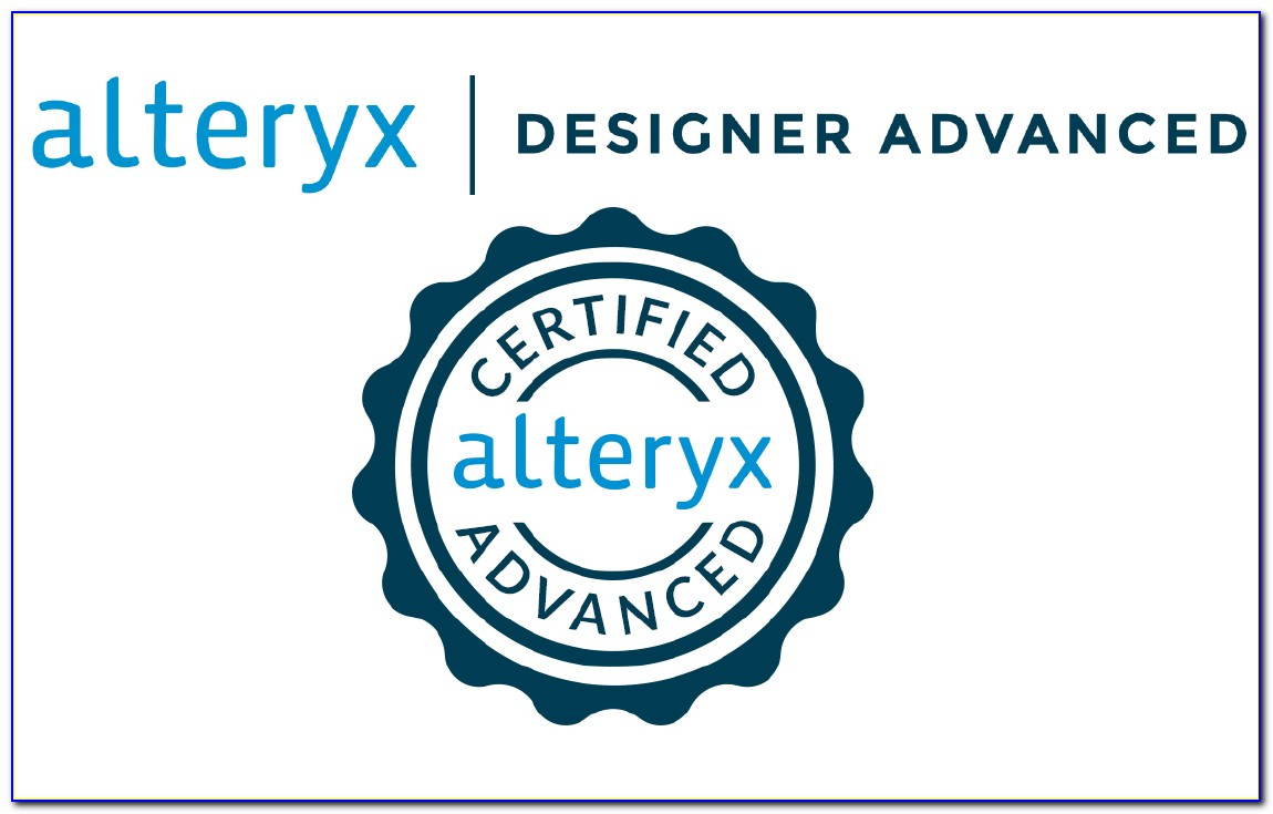 Alteryx Certification Test Answers