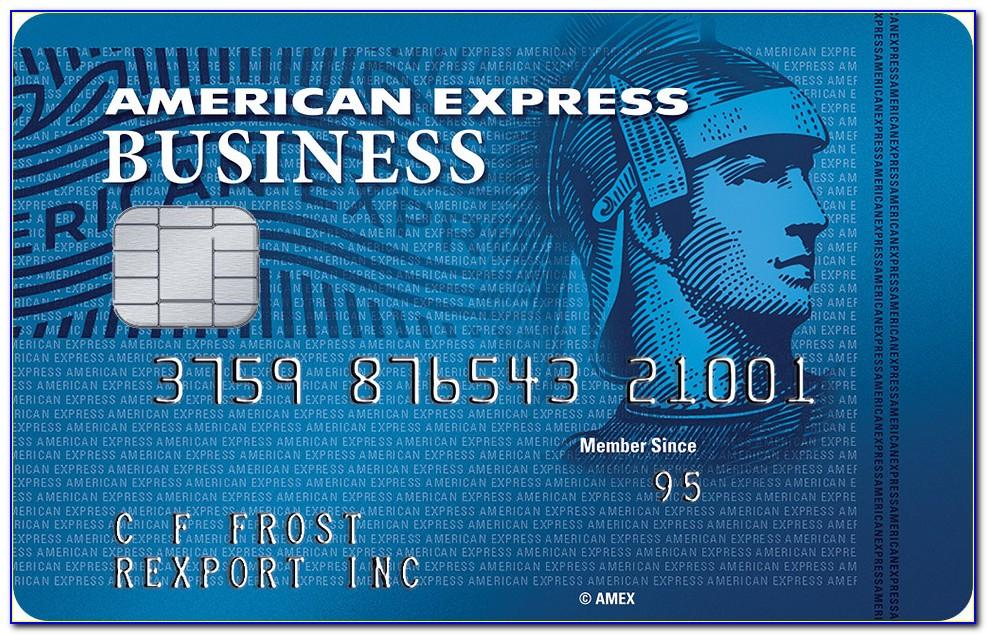 American Express Business Card No Annual Fee